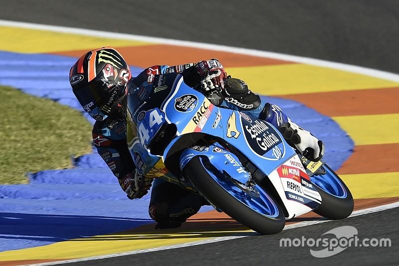 Aron Canet conquista la sua prima pole position a Valencia