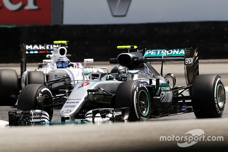【F1ブラジルGP】FP3:ドライとウエットの混在したコンディションでロズベルグがトップタイム