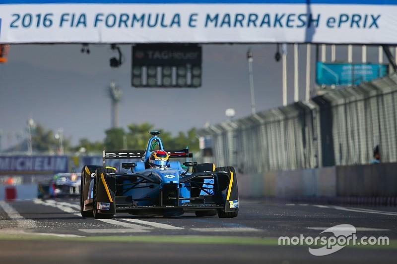 【フォーミュラE】マラケシュePrix決勝:グリッド降格もはね退け、ブエミが開幕2連勝