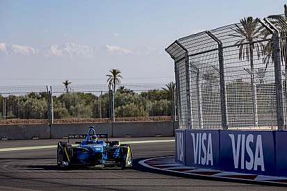 Buemi luchó para ganar en Marruecos