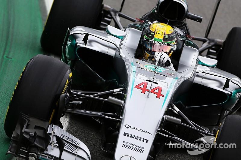 "Hamilton: ""He tenido controlado a Rosberg todo el fin de semana"""