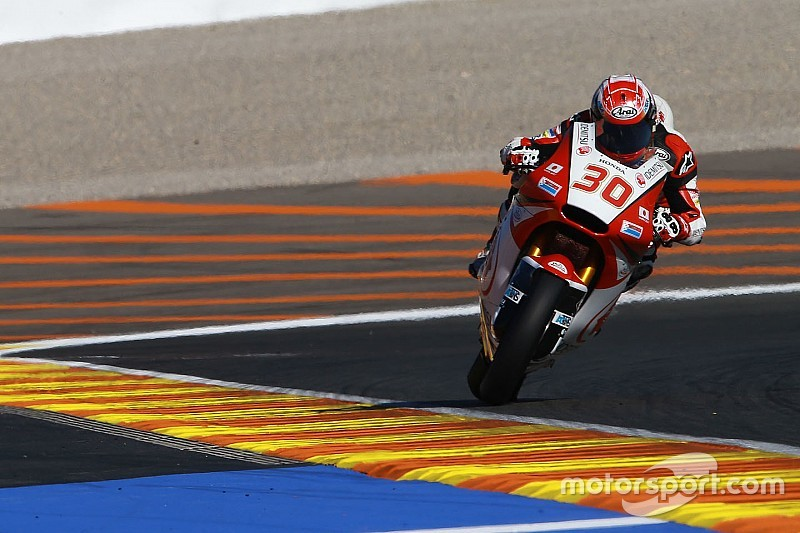 【Moto2】中上「ペースをあと0.2秒上げればレースで戦える」:バレンシア予選