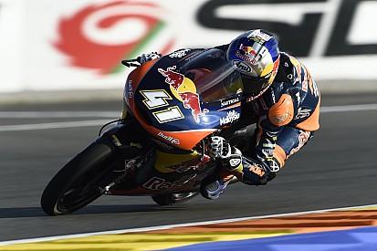 Binder met afstand het snelst in warm-up GP Valencia