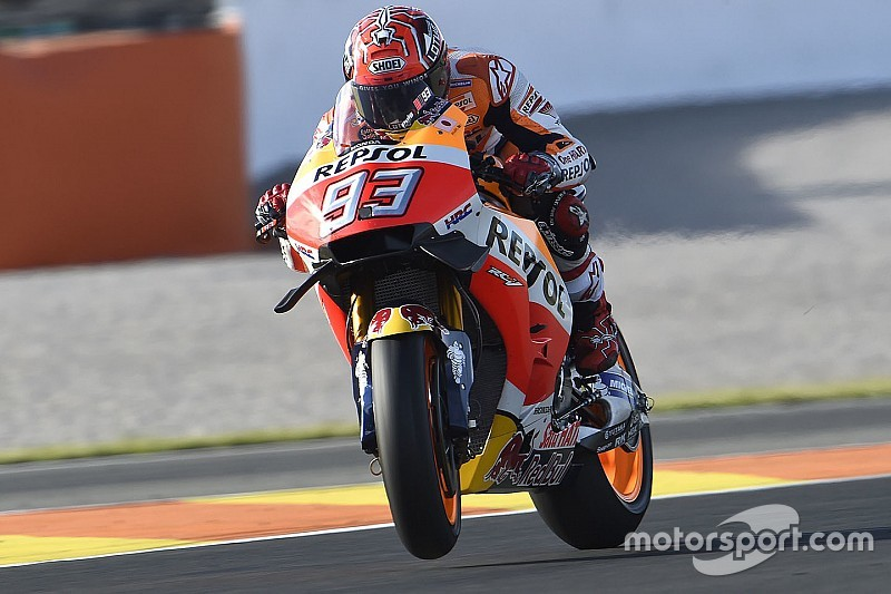 MotoGP Valencia: Marquez tercepat di WUP, Lorenzo ketujuh