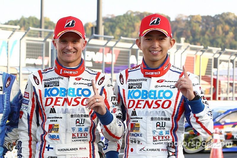 Heikki Kovalainen sacré en Super GT
