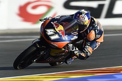 Moto3 Valencia: Binder tutup musim dengan kemenangan sensasional