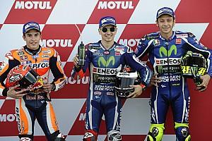 MotoGP Resultados La parrilla de salida del Gran Premio de Valencia