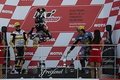 El bicampeón Zarco se despide de Moto2 a lo grande
