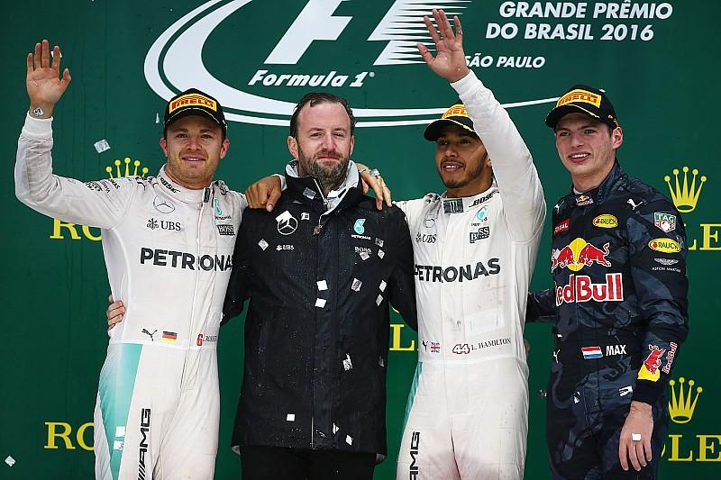 """巴西大奖赛正赛: 汉密尔顿首度称雄英特拉格斯,再次救回""""冠军点"""""""