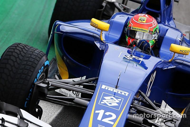 """Deux points qui sonnent """"comme une victoire"""" pour Nasr et Sauber"""