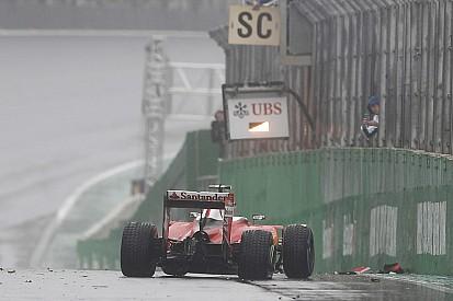 【F1ブラジルGP】グロージャン「ウエットタイヤの性能を改善するべき」