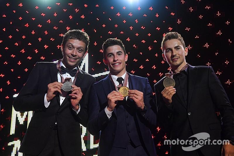 Le palmarès complet de la saison MotoGP, Moto2 et Moto3