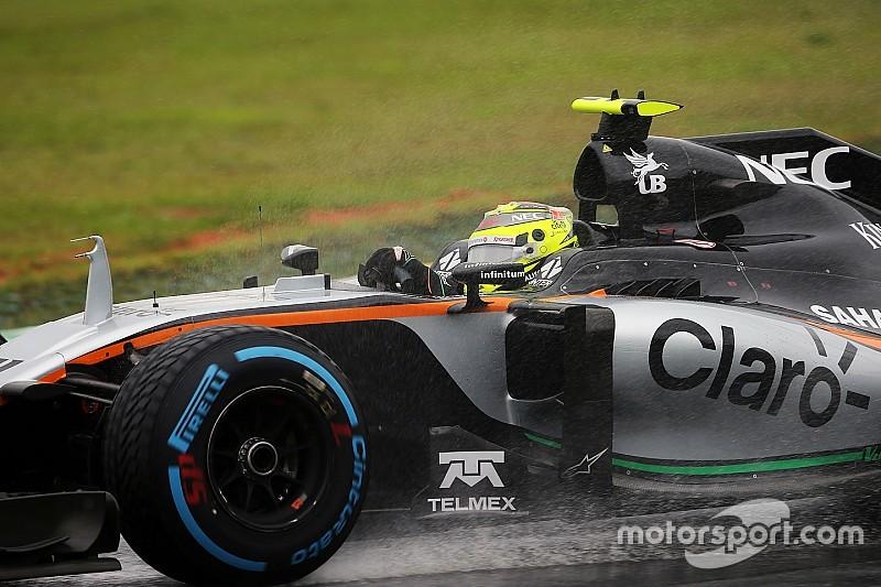 Pas de podium, mais Force India fait le break sur Williams