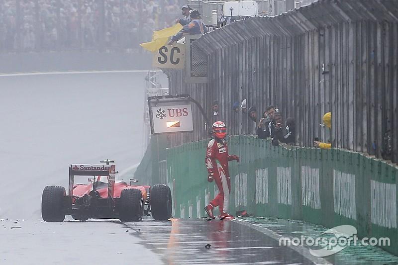 Räikkönen - Plus d'aquaplaning qu'avant avec ces pneus pluie