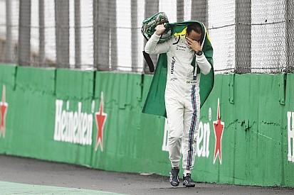 La despedida de Massa de la afición brasileña