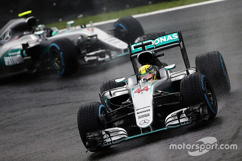 Stats - Mercedes, 30 doublés en trois ans!