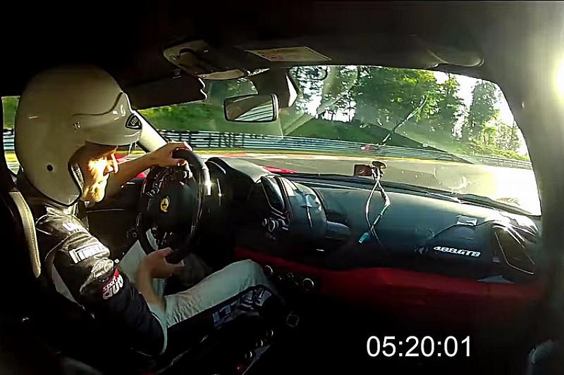 Vidéo - Le tour le plus rapide d'une Ferrari sur le Nürburgring