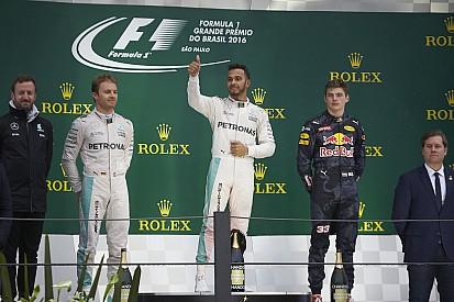 ترتيب بطولة العالم للفورمولا واحد بعد سباق البرازيل