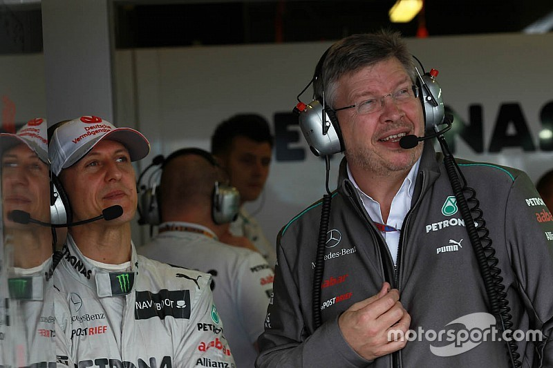 Brawn clarifies Schumacher recovery comments