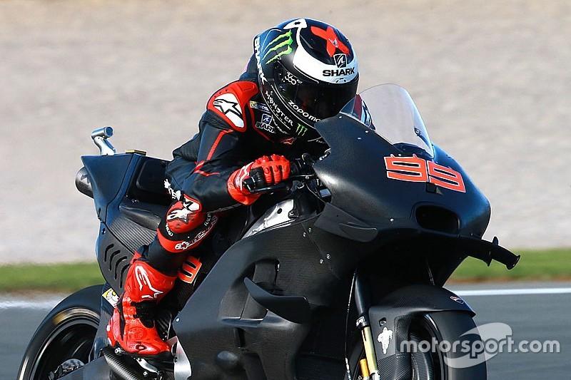 Erste Fotos: Jorge Lorenzo auf der MotoGP-Ducati
