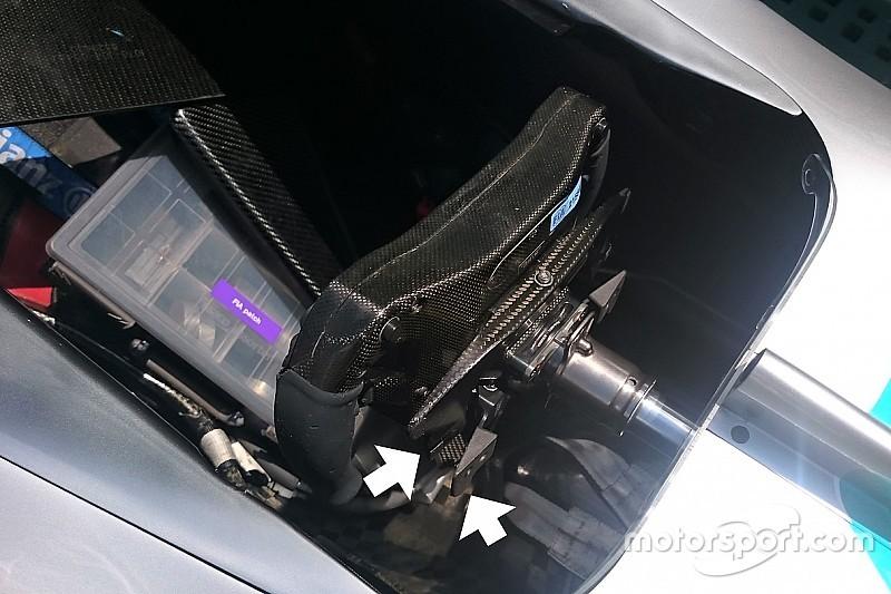 【F1】メルセデス、スタート改善のためハミルトンのステアリングをアップデート