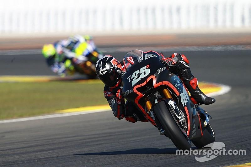 Essais Valence - Rossi à la faute, Viñales et Lorenzo impressionnants