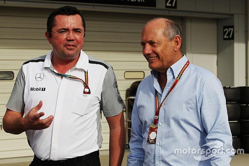 McLaren elogia a Dennis tras su dimisión