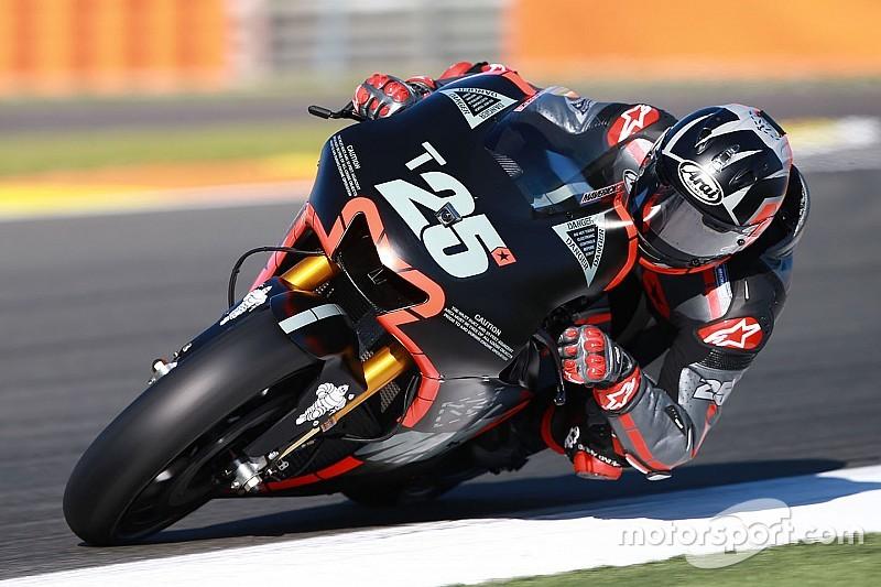 【MotoGP】ヤマハのビニャーレス、初テスト初日にトップタイム。ドゥカティのロレンソも3番手