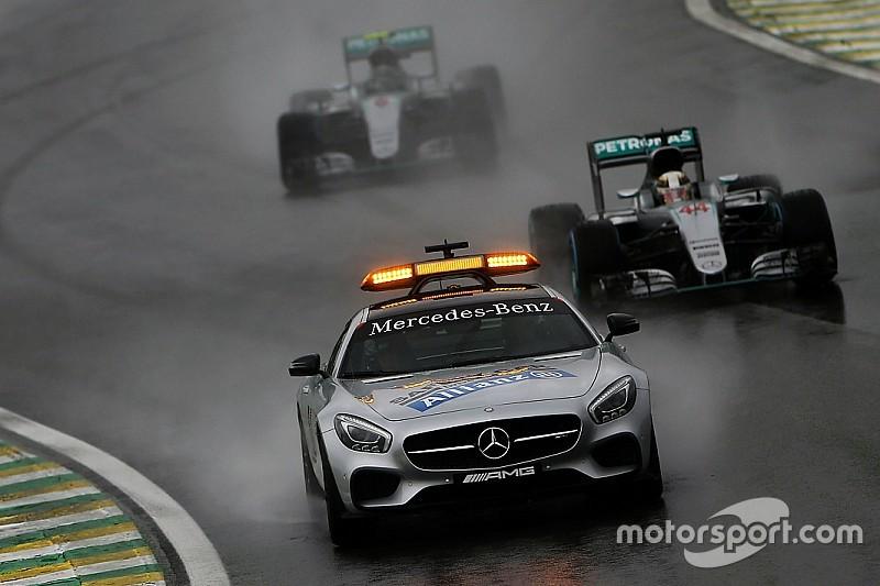 Гонщики Ф1 разучились ездить в дождь. Так ли это?