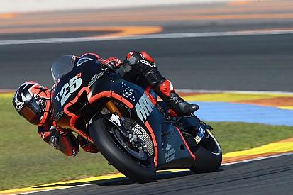 MotoGP-Test Valencia: Wieder Bestzeit für Vinales, schwerer Sturz von Rins