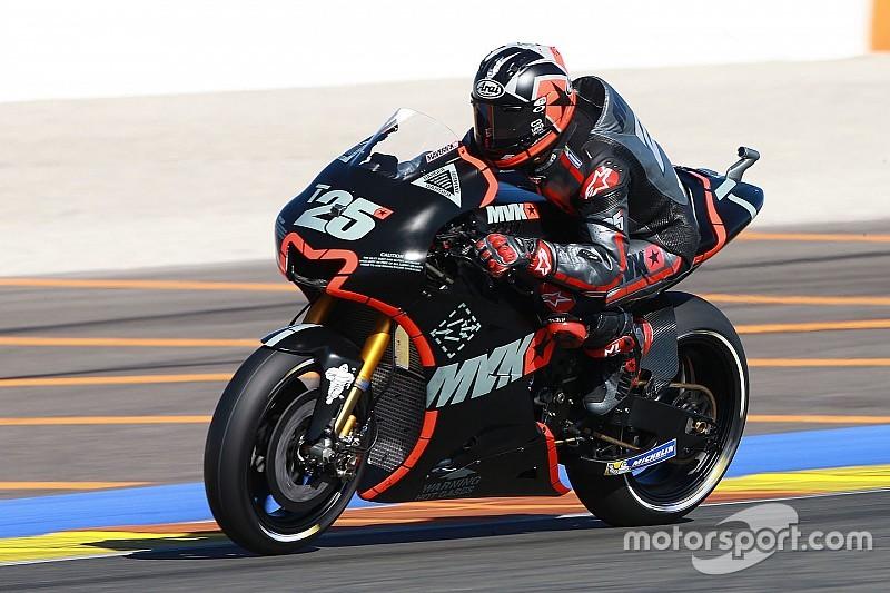 Viñales opnieuw snelste op tweede MotoGP-testdag Valencia