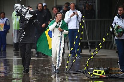 """La colonna di Massa: """"Obrigado e commosso dal tributo in pit lane"""""""