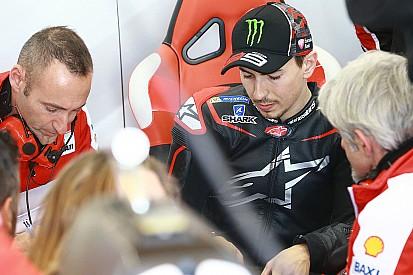 Ducati hace un balance positivo del debut de Lorenzo, pero esperaba un mejor crono
