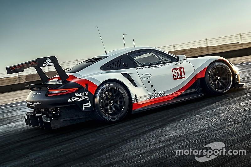 Porsche apresenta novo 911 para WEC e IMSA em 2017