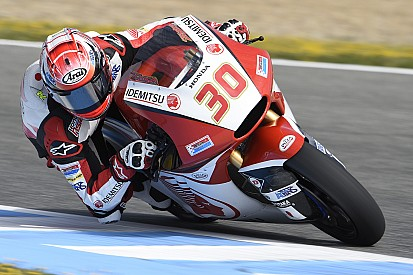 Nakagami en Moto2 y Fenati en Moto3, lideran el primer día de test en Jerez