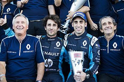 Renault patronu, Buemi'nin aldığı zaferlerin çok önemli olduğunu söyledi