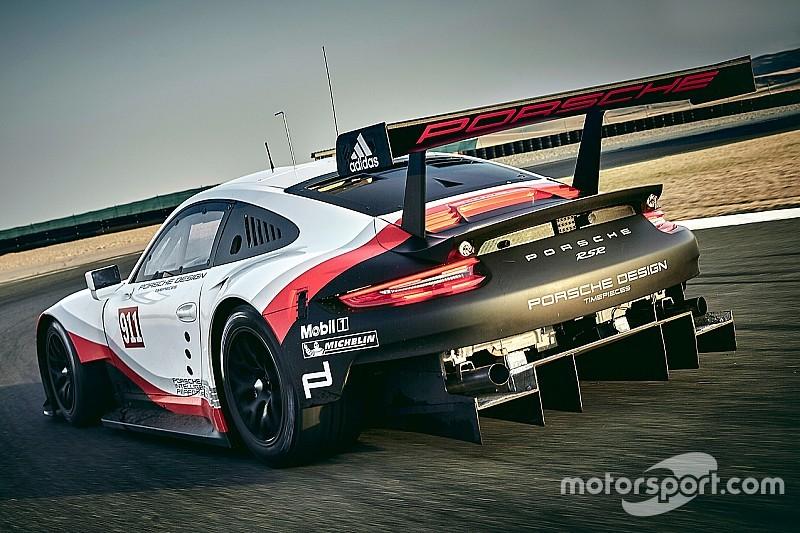 Fotogallery: la nuova Porsche 911 RSR per il WEC e l'IMSA 2017