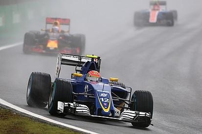【F1ブラジルGP】ザウバー、天の恵みでマノーを逆転も「ポイントがなくても来季は安泰」