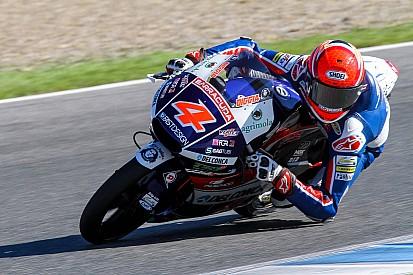 Nakagami en Moto2 y Di Giannantonio en Moto3, los mejores del último día de test en Jerez