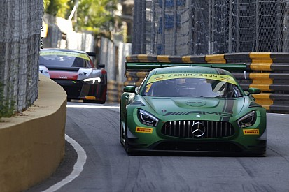 GT in Macau: Mercedes-Bestzeit und Porsche-Crash im 2. Training