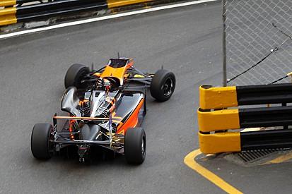 【F3マカオ】フリー走行2回目:アイロットがトップタイム、山下が3番手と好調