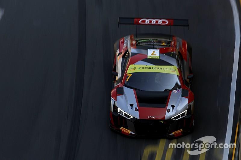 GT World Cup en Macao: Mortara lideró un doblete de Audi en clasificación