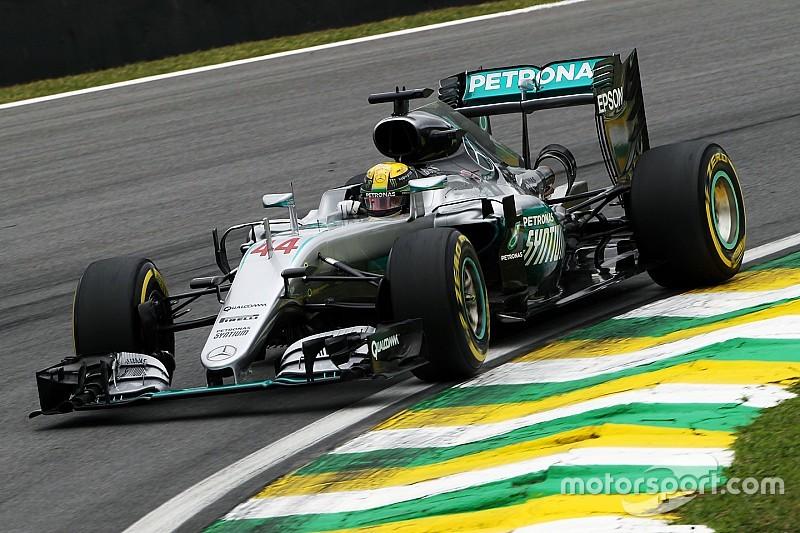 """Lewis Hamilton: """"Ich bin im letzten Rennen in einer heiklen Situation"""""""