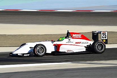 Mick Schumacher-győzelem Bahreinben, az F1-es versenypályán