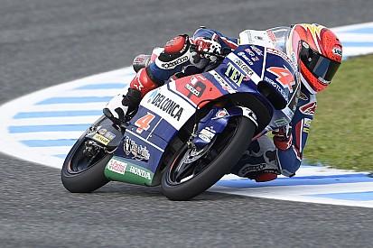 Di Giannantonio pimpin tes Moto3 di Jerez