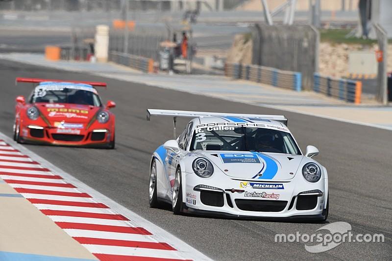 ريان كولين يُحرز الفوز بفارق 0.035 ثانية في السباق الافتتاحي على حلبة البحرين