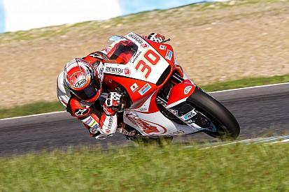 Nakagami le plus rapide des essais Moto2 de Jerez