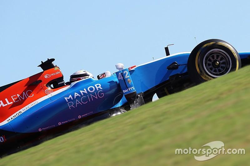 King kembali tampil bersama Manor untuk FP1 Abu Dhabi