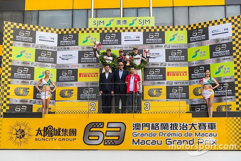 GT World Cup Macao: Vanthoor gana una controvertida carrera clasificatoria