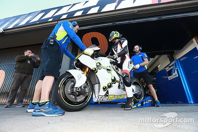 Iannone découvre Suzuki avec deux chutes et un feeling prometteur